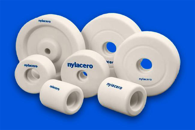 ruedas de nylon nylacero