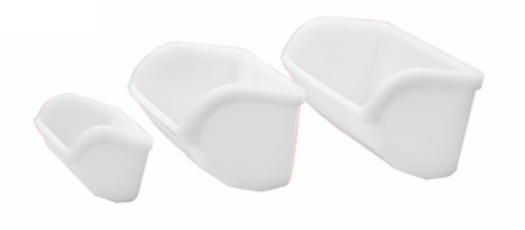 cangilones tipsa polietileno blanco