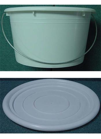 cubeta plástico de polietileno 5L grado alimenticio